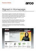 Welcome to the new Arco website. - Page 5