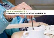 Gästehaus Mittelleimbach Ein Ort der Stärkung für ... - Stadt Zürich