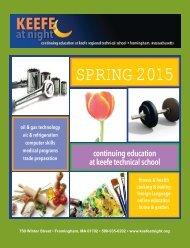KEEFE Spring 2015 catalog