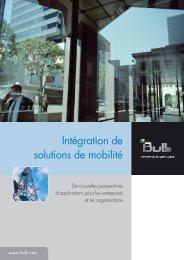 Intégration de solutions de mobilité - Bull