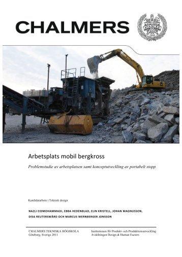 Rapport - Teknisk Design
