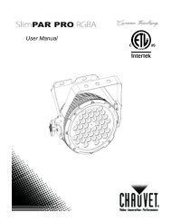 Owners Manual - All Pro Sound