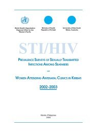 Download pdf, 126kb - WHO Western Pacific Region - World Health ...