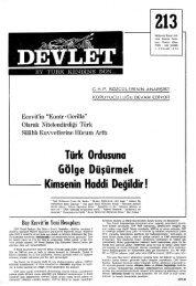 Türk Ordusuna Gölge Düşürmek Kimsenin Haddi Değildir!