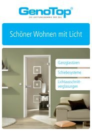 GenoTop Schöner Wohnen mit Licht - ZEG Zentraleinkauf Holz und ...