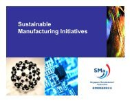 The Sustainable Manufacturing Label Programme - Singapore ...