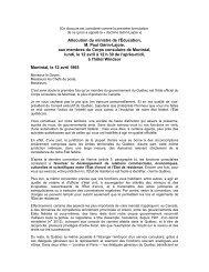 doctrine Gérin-Lajoie - Ministère des Relations internationales