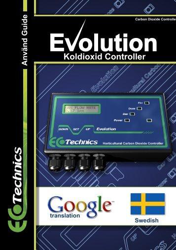 Koldioxid Controller - Ecotechnics