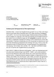 Auftragswert bei Planungsleistungen Stand Juni 2012 2 - Aufsichts