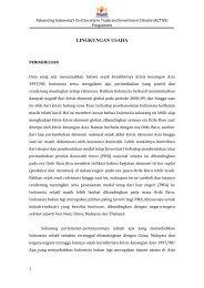 LINGKUNGAN USAHA - Kadin Indonesia