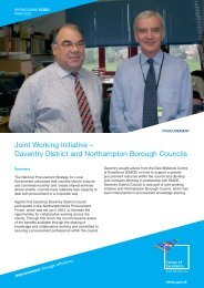 Joint Working Initiative – Daventry District and Northampton ...