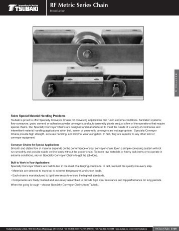 RF Metric Series Chain - Tsubaki