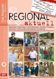 Regionales   Reportagen   Veranstaltungen   Lifestyle