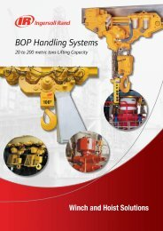 BOP Handling Systems - Ingersoll Rand