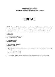 EDITAL - Movimento Brasil Competitivo