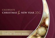 CHRISTMAS & NEW YEAR 2012