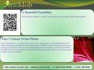 A Beautiful Possibility Flux Crimson PrimeTheme - RunMob