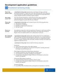 Development application guidelines Functional servicing ... - Oakville