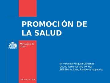 Promoción escuela - SEREMI de Salud Región Valparaíso