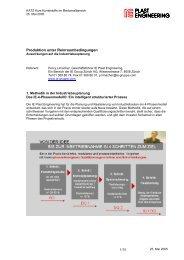 Vortrag KATZ 2005 - IE Engineering Group AG