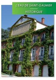 Badoit - Brochure Historique - Site officiel - Mairie de Saint-Galmier
