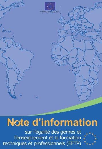 Briefing Note VET.vp - Capacity4Dev - Europa
