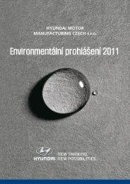 Environmentální prohlášení 2011 - HYUNDAI Motor Manufacturing ...
