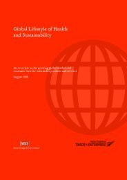 Global lifestyle of health and sustainability - New Zealand Trade and ...