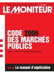 code des marchés publics - Consulter en ligne