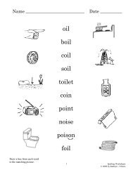 Spelling Worksheets 5-4 Simple Machines - Sound City Reading