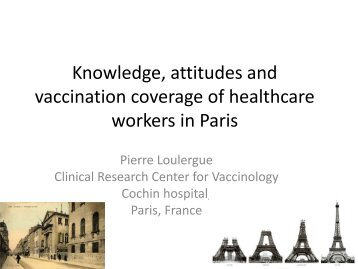 Knowledge, attitudes and vaccination coverage of healthcare ...