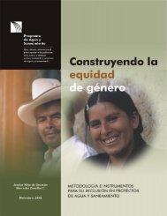 Construyendo la equidad de género. Metodología e ... - WSP