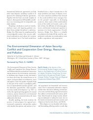 The Environmental Dimension of Asian Security - Woodrow Wilson ...