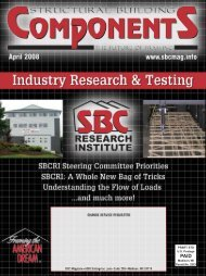 PRSRT STD U.S. Postage Madison, WI Permit No ... - SBC Magazine