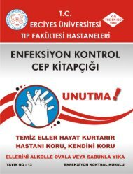 Enfeksiyon Kontrol Kitapçığı - Erciyes Üniversitesi Tıp Fakültesi ...