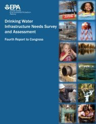Drinking Water Infrastructure Needs Survey and Assessment: Fourth ...