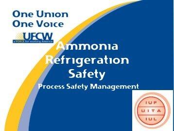 Ammonia Refrigeration Safety - IUF