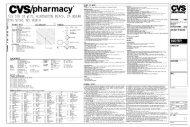 CVS/PharmaOf
