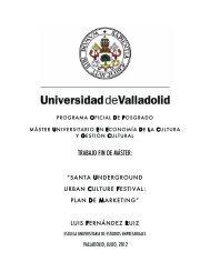 Santa Underground Urban Culture Festival: Plan de Marketing