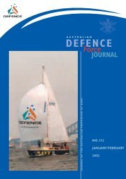 ISSUE 152 : Jan/Feb - 2002 - Australian Defence Force Journal