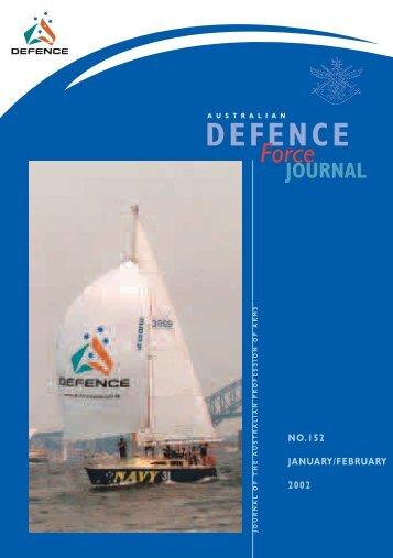 ISSUE 152 : Jan/Feb - 2002 - Australian Defence Force Journal