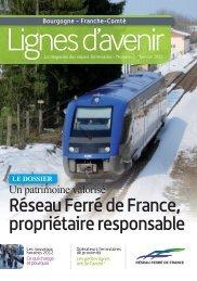 Magazine Lignes d'avenir Bourgogne Franche-Comté - n°2 - RFF