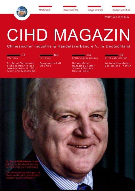 工商会杂志6 12/2008 - Chinesischer Industrie- und Handelsverband ...