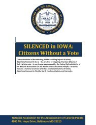 SILENCED in IOWA: Citizens Without a Vote