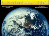 La Mundanalidad y la Iglesia - Iglesia Biblica Bautista de Aguadilla ...