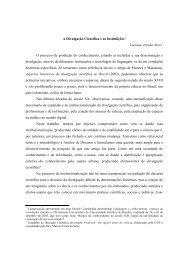 A divulgação científica e as instituições - Universidade Católica de ...
