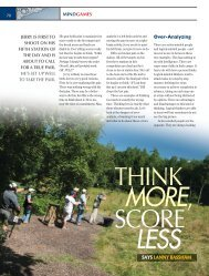 think more score less - Clay Shooting USA