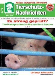 Zeitung März 2013.pdf - Aktiver Tierschutz Steiermark