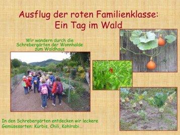 Ausflug rote Klasse - Paula Fürst Schule