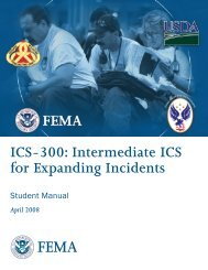 ICS-300: Intermediate ICS for Expanding Incidents - Franklin County ...